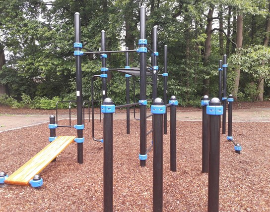 grote weergave Streetworkout Torenhof